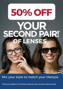 50% second pair
