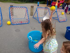 trampoline ball bounce