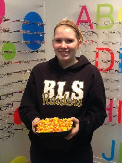 MEKAYLA WAUGH CANDY CORN WINNER