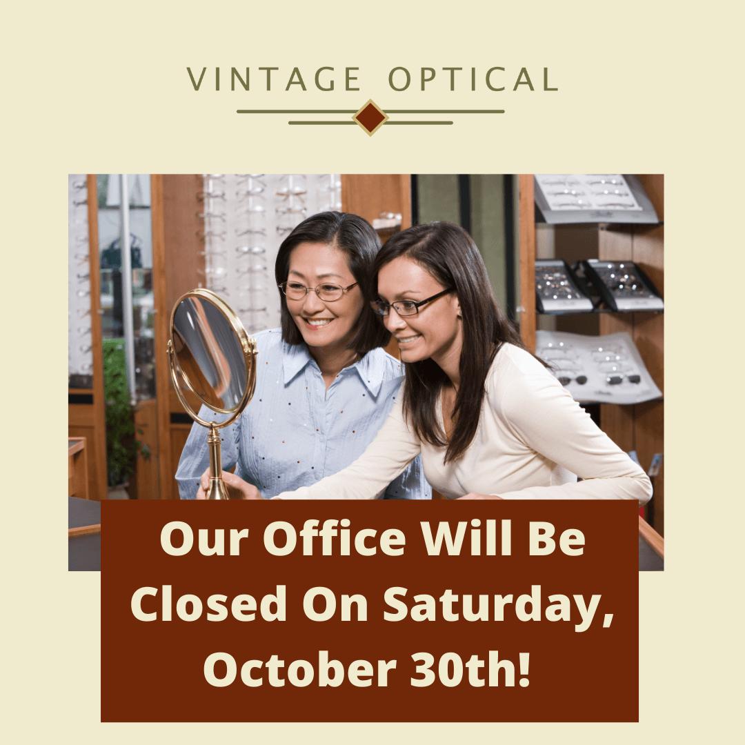 Vintage Optical Closed