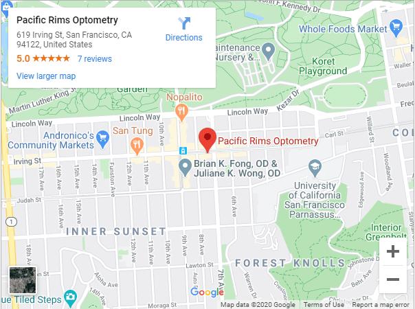 Pacific Rims Optometry Google Maps