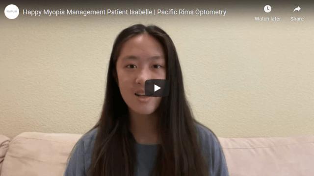Screenshot 2020 07 20 Happy Myopia Management Patient Isabelle Pacific Rims Optometry