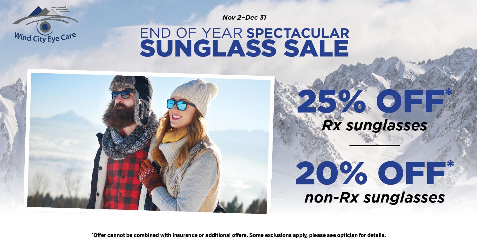WindCityEyeCare SunglassesPromo webtile