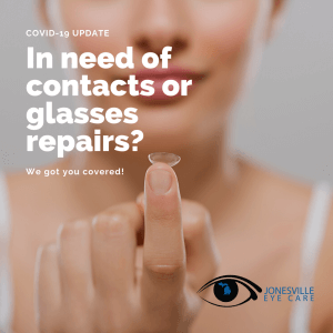 Contacts Glasses Jonesville Eye Care