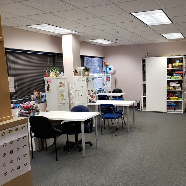 eye care, children vision therapy room