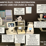 Eye Exam Room with descriptions - optometrist - Paramus, NJ