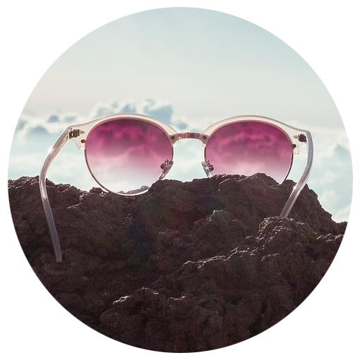 sunglasses on rocks - optometrist, Paramus, NJ