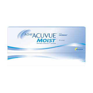 Johnson and Johnson 1 Day Acuvue Moist Contact Lenses