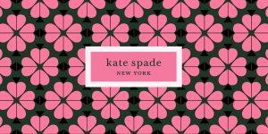 kate spade ny logo with pattern