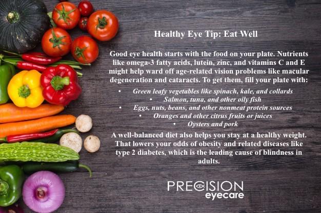 Healthy Eye Tip 1 eat well