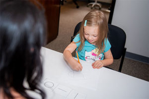 Childrens vision therapy