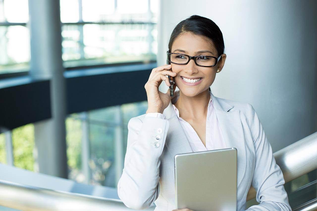 glasses business woman technology 1280×853