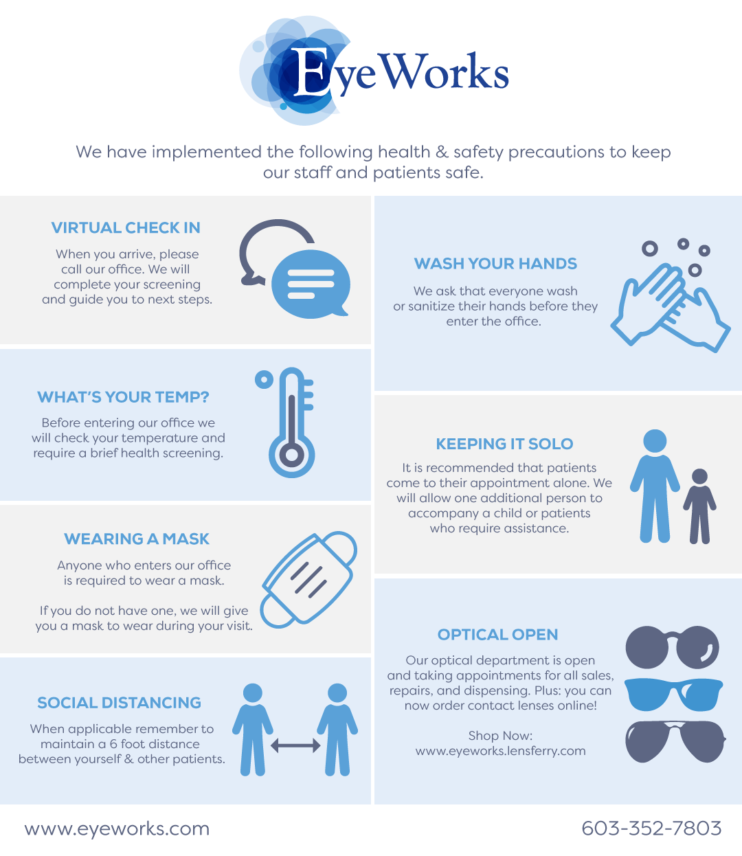 EyeWorks WebsitePopup
