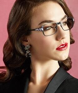 Jimmy Crystal NY eyewear model