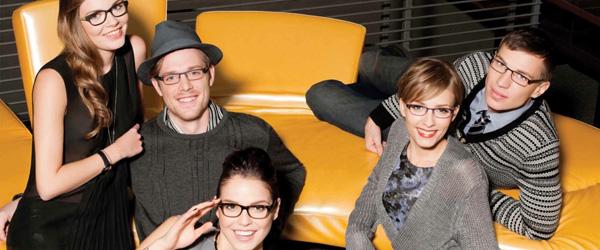 Family Wearing kliik Designer Eyeglass Frames