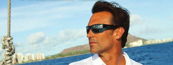 Man Wearing Maui Jim Designer Eyeglass Frames