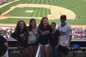 twins baseball game