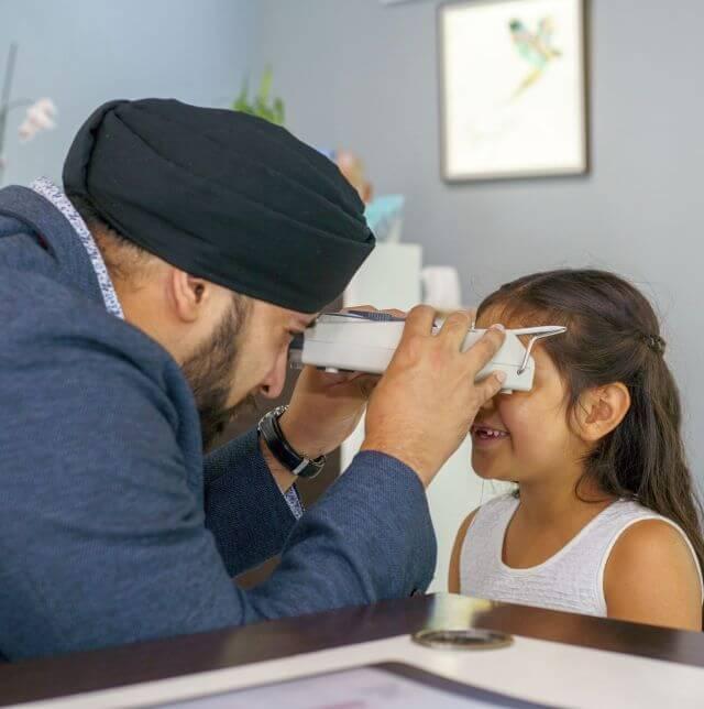 eye exams for kids at Vivid Eyecare