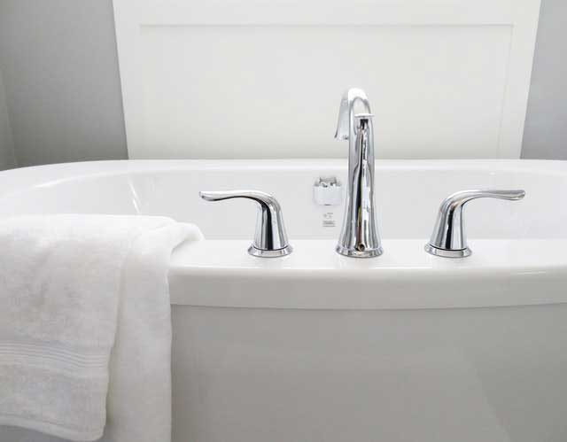bathroom bathtub ceramic chrome 534116