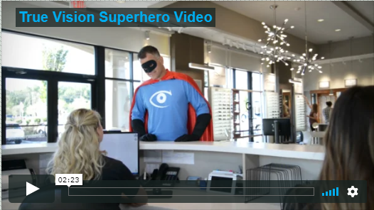 True Vision Superhero Screen