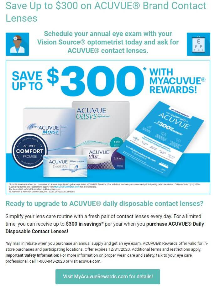 Acuvue Lenses