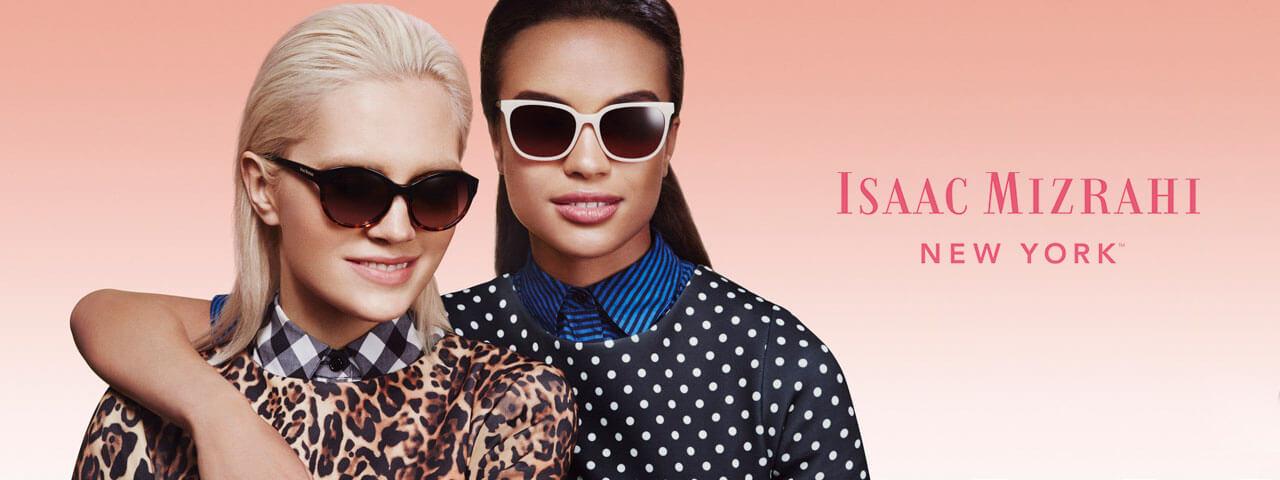 Family Wearing Isaac Mizrahi Designer Eyeglass Frames