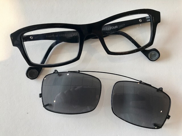 Clip on sunglasses at eye mechanix lincoln park chicago