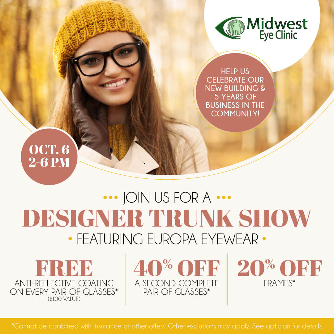 MidwestEyeClinic TrunkShow SocialEmail