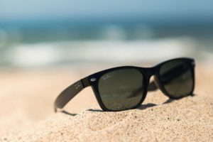 RayBans on the sand