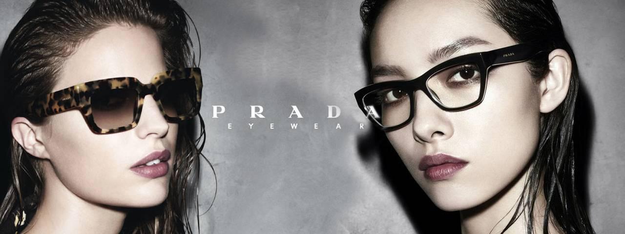 Women Wearing Prada Designer Eyeglass Frames