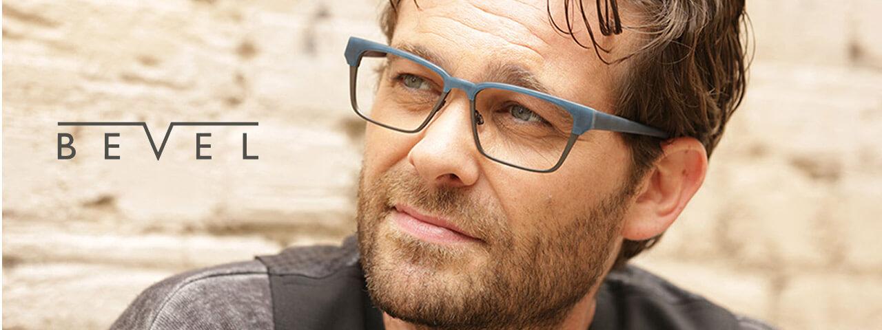 Bevel Designer Eyeglass Frames