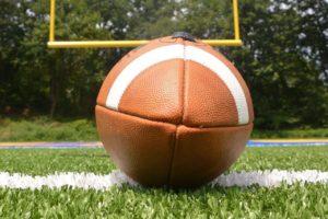 sport football goalpost bkground med