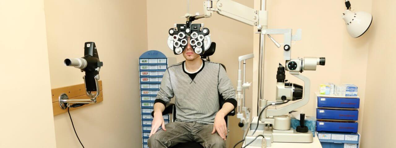 patient eye exam