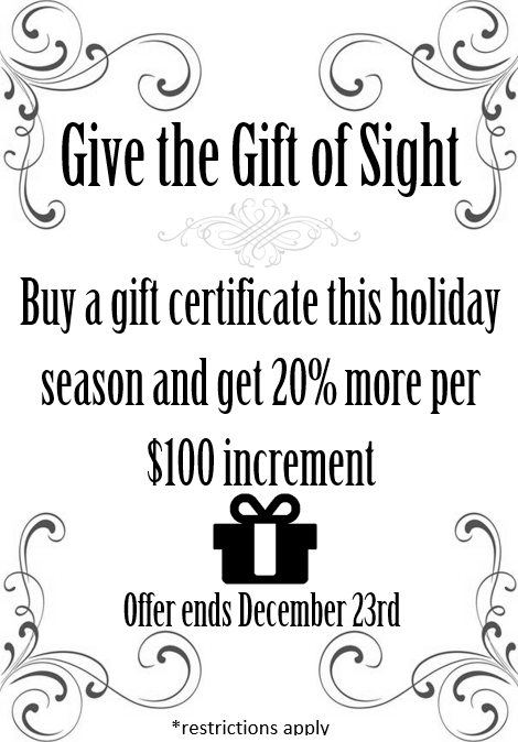 jacksoneyecenter-Give the gift of sight