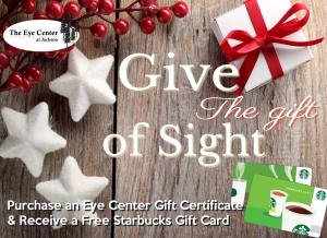 GiveTheGiftofSightStarbucks