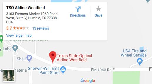 TSO Aldine Westfield Map