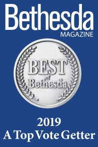 2019 Top Vote Getter because we are the best in Bethesda
