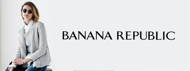 Banana Republic Designer Frames Logo