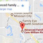 google map narrow