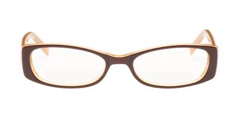 eyeglasses with rectangle plastic frames