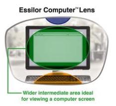 essilor computer lens
