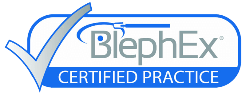 Your Calgary dry eye specialist is BlephEx certified.
