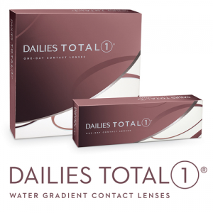 Eye exam, dailies total one boxes contact lenses in San Jose, CA