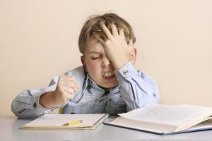 kids struggling to write
