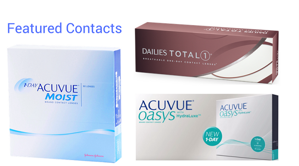 Acuvue & Alcon Contact Lenses