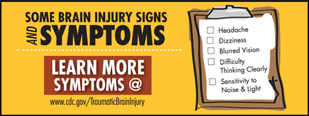 concussion infographic brain injury signs symptoms 450w