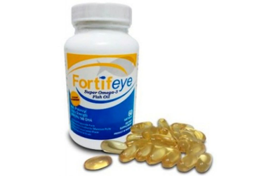 Fortifeye omega 3 fish oil compress