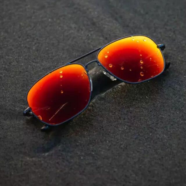 orange SPY optics sunglasses