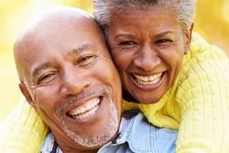 healthy senior couple