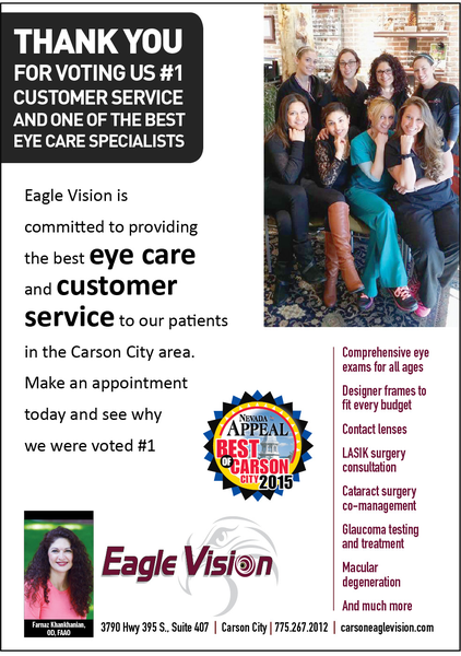 Eagle Vision bestof carson 7 14 15 rs 600